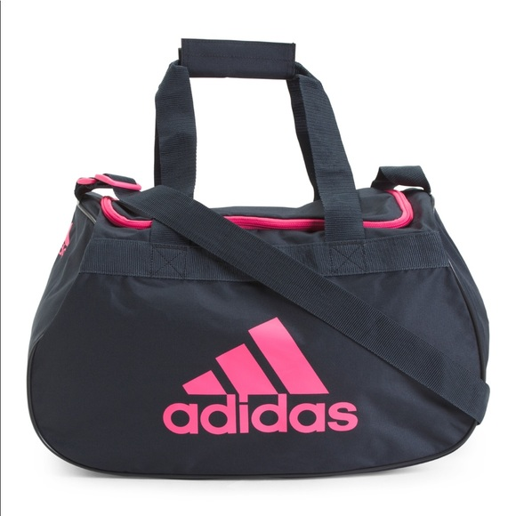 b22457f35e Adidas Diablo Small Duffel Gym bag —New DARK gray